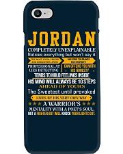 Jordan - Completely Unexplainable Phone Case thumbnail