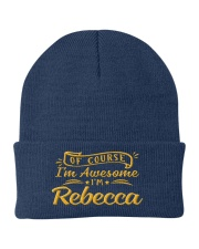 Rebecca - Im awesome Knit Beanie thumbnail