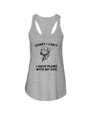 I have plans with dog Ladies Flowy Tank thumbnail