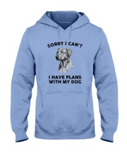 I have plans with dog Hooded Sweatshirt thumbnail