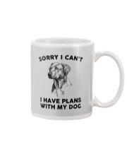 I have plans with dog Mug thumbnail