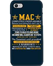 Mac - Completely Unexplainable Phone Case thumbnail