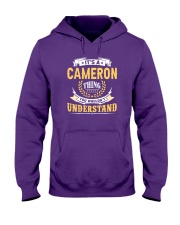 Cameron - thing you wouldnt understand M002 Hooded Sweatshirt thumbnail