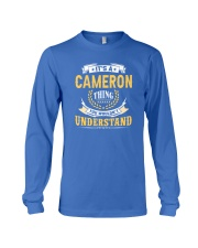 Cameron - thing you wouldnt understand M002 Long Sleeve Tee thumbnail