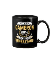 Cameron - thing you wouldnt understand M002 Mug front