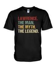 THE LEGEND - Lawrence V-Neck T-Shirt thumbnail