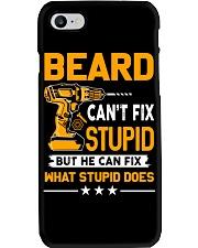 BEARD - FIX WHAT STUPID DOES Phone Case thumbnail
