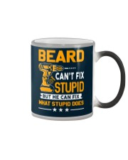 BEARD - FIX WHAT STUPID DOES Color Changing Mug thumbnail