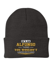 ALFONSO - THING YOU WOULDNT UNDERSTAND Knit Beanie tile