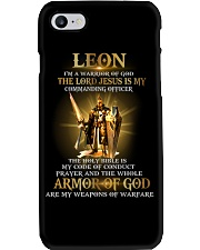 Leon - Warrior of God M004 Phone Case thumbnail