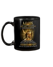 Leon - Warrior of God M004 Mug back