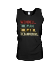Wendell The man The myth The bad influence Unisex Tank thumbnail