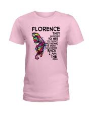 Florence - Im the storm VERS Ladies T-Shirt thumbnail