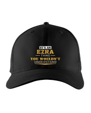 EZRA - THING YOU WOULDNT UNDERSTAND Embroidered Hat front