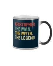 THE LEGEND - Kristopher Color Changing Mug thumbnail