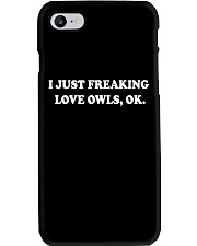 Freaking love owls Phone Case thumbnail