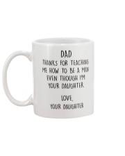 Father's day gift Mug back