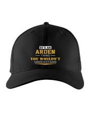 ARDEN - THING YOU WOULDNT UNDERSTAND Embroidered Hat front