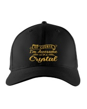 Crystal - Im awesome Embroidered Hat front