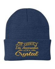 Crystal - Im awesome Knit Beanie thumbnail