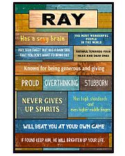 Ray - PT01 24x36 Poster front