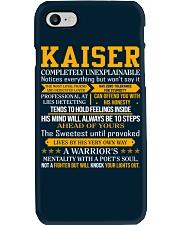 Kaiser - Completely Unexplainable Phone Case thumbnail