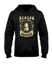 PRINCESS AND WARRIOR - REAGAN Hooded Sweatshirt thumbnail