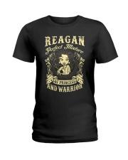 PRINCESS AND WARRIOR - REAGAN Ladies T-Shirt front