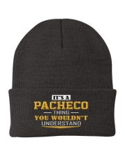 PACHECO - Thing You Wouldnt Understand Knit Beanie thumbnail