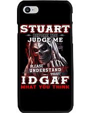 Stuart - IDGAF WHAT YOU THINK M003 Phone Case thumbnail