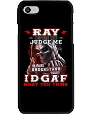 Ray - IDGAF WHAT YOU THINK M003 Phone Case thumbnail