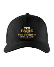 PARIS - THING YOU WOULDNT UNDERSTAND Embroidered Hat front