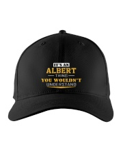 ALBERT - THING YOU WOULDNT UNDERSTAND Embroidered Hat front