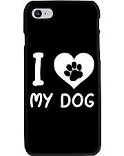 I LOVE MY DOG Phone Case thumbnail