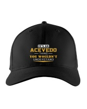 ACEVEDO - Thing You Wouldnt Understand Embroidered Hat front