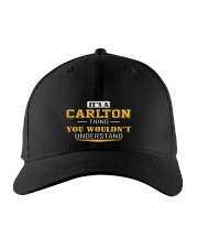 CARLTON - THING YOU WOULDNT UNDERSTAND Embroidered Hat front