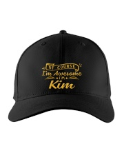 Kim - Im awesome Embroidered Hat front