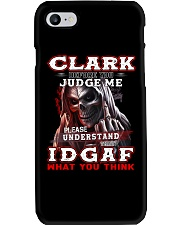 Clark - IDGAF WHAT YOU THINK M003 Phone Case thumbnail