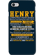 Henry - Completely Unexplainable Phone Case tile