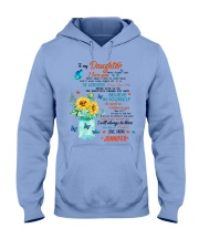 TO MY DAUGHTER Hooded Sweatshirt thumbnail