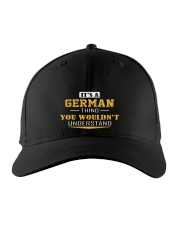 GERMAN - THING YOU WOULDNT UNDERSTAND Embroidered Hat front
