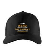 NERO - THING YOU WOULDNT UNDERSTAND Embroidered Hat front