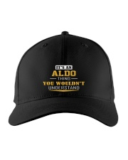 ALDO - THING YOU WOULDNT UNDERSTAND Embroidered Hat front