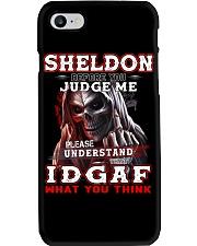 Sheldon - IDGAF WHAT YOU THINK M003 Phone Case thumbnail