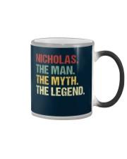 THE LEGEND - Nicholas Color Changing Mug thumbnail