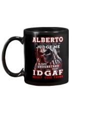 Alberto - IDGAF WHAT YOU THINK M003 Mug back