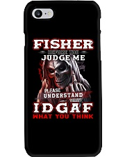 Fisher - IDGAF WHAT YOU THINK M003 Phone Case thumbnail