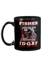 Fisher - IDGAF WHAT YOU THINK M003 Mug back