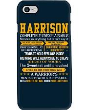 Harrison - Completely Unexplainable Phone Case thumbnail
