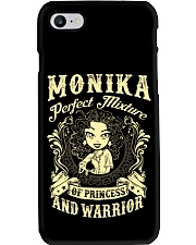 PRINCESS AND WARRIOR - MONIKA Phone Case tile